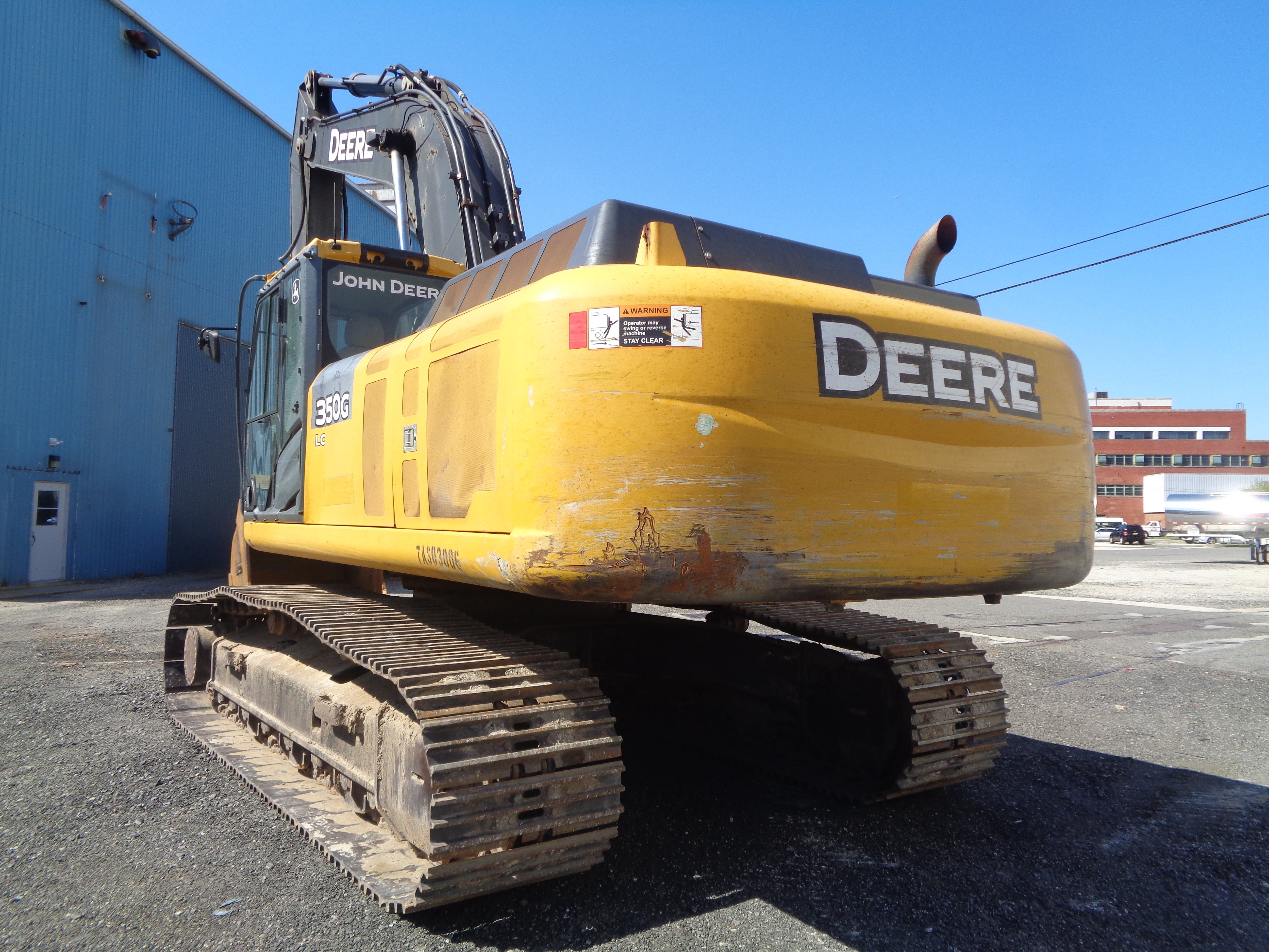 Lot 3 - 2014 John Deere 350G Hydraulic Crawler Excavator