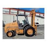 Case 580G 6000lb Rough Terrain Forklift