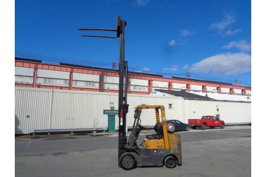 Lot 40 - TCM FCG25F9 5,000 lb Forklift