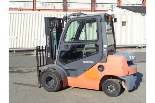 Lot 39 - 2013 Toyota 8FDU25 5,000lb Forklift