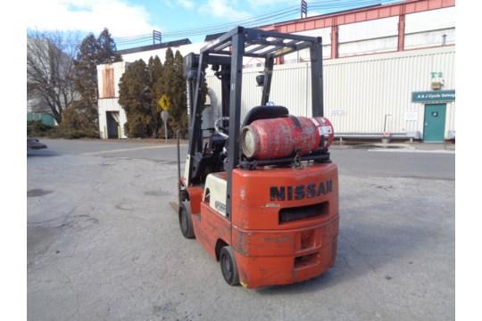 Lot 44 - Nissan 3,000lb CPJ01A18PV Forklift