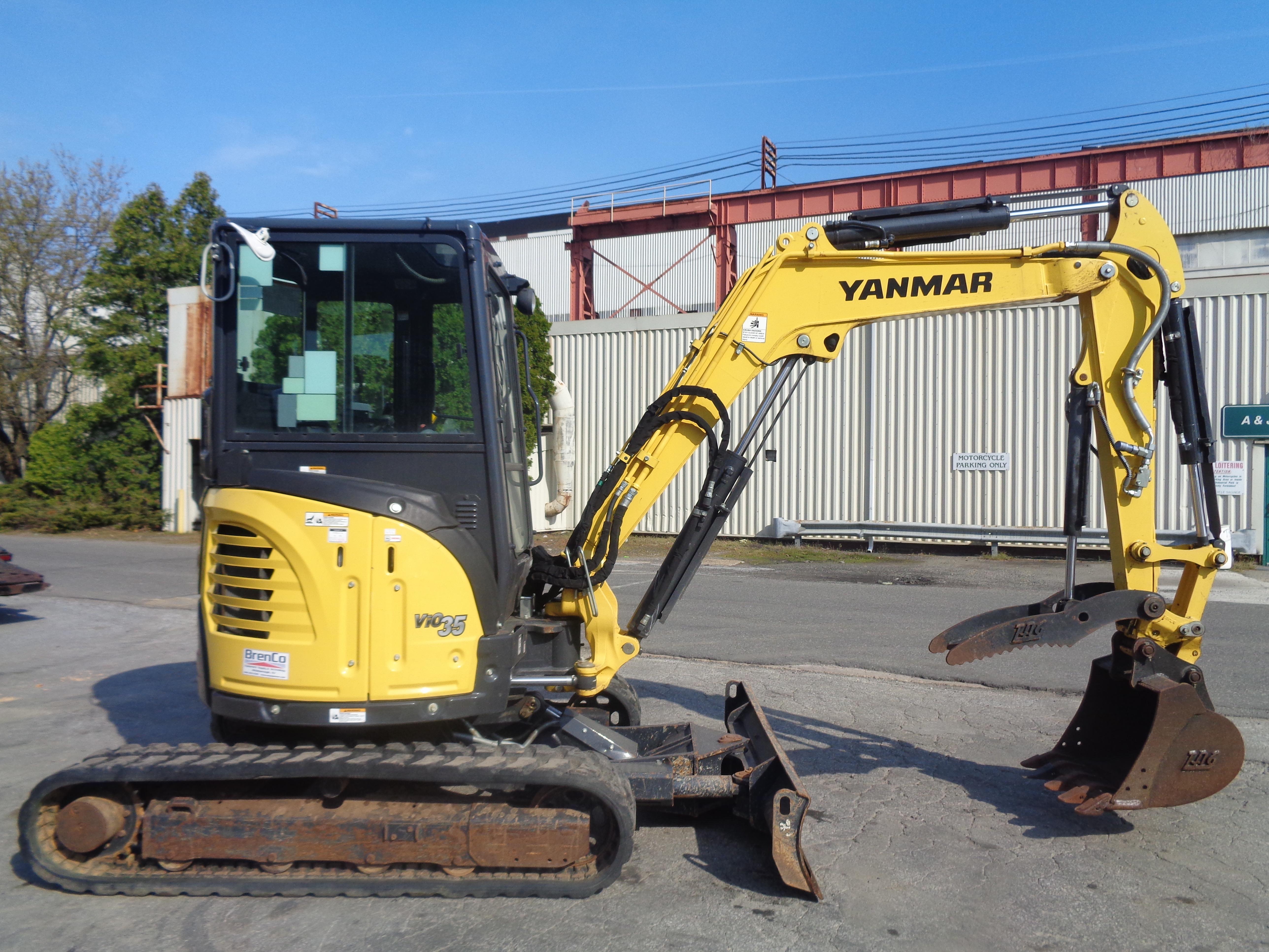Lot 45 - 2018 Yanmar VIO35 6A Mini Excavator