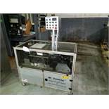 Gemel Mr. Deblister machine, 30mm x 50mm min to 120mm x 145mm max format sizes, rated up to 4800/