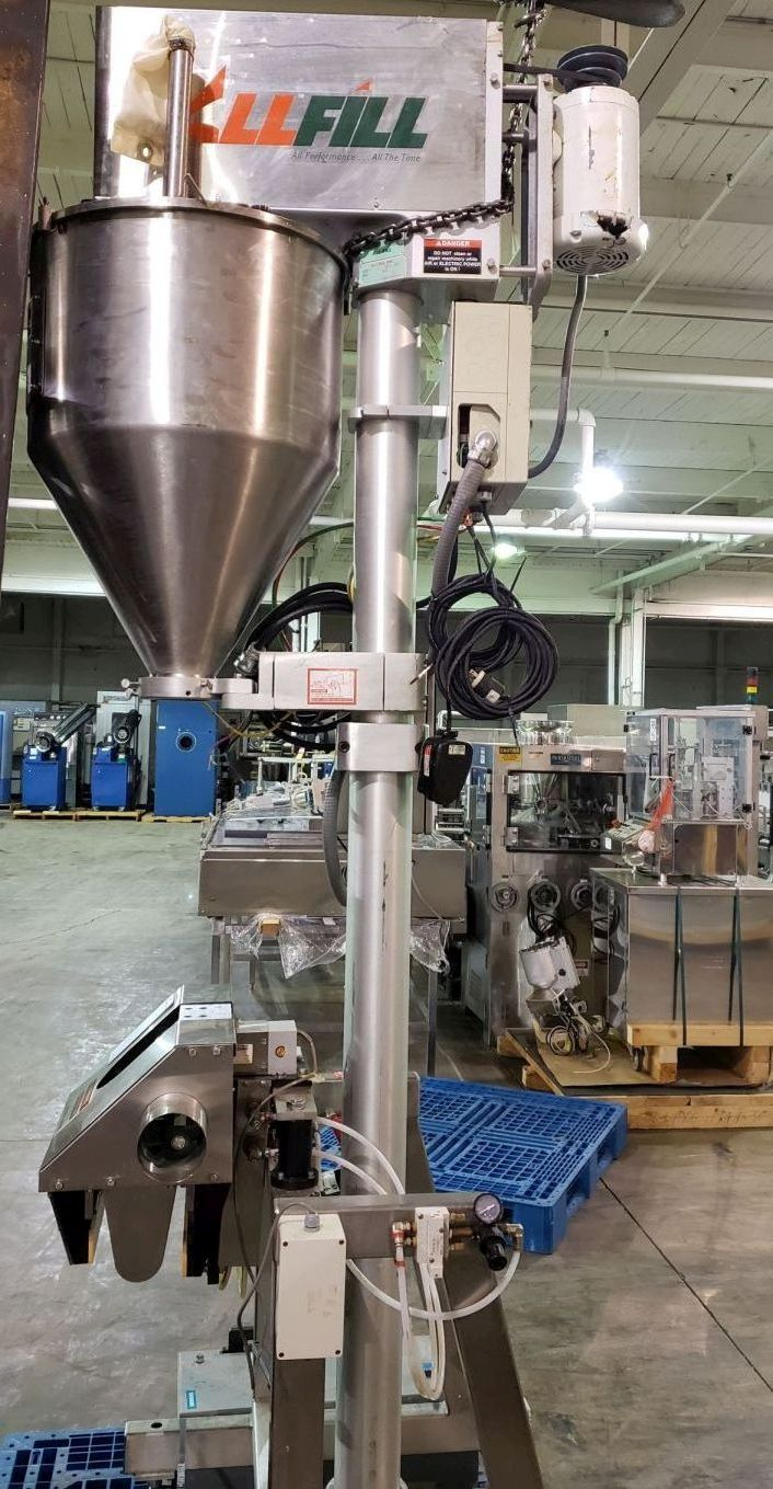 All-Fill auger filler, model BS600, stainless steel construction, - Image 2 of 15