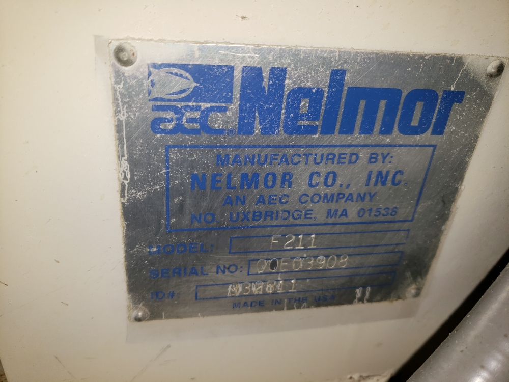 "Nelmor granulator, model F211, 8"" wide feed opening, screw feed, 2 knife rotor, 5 hp, 230/460 volt - Image 5 of 11"