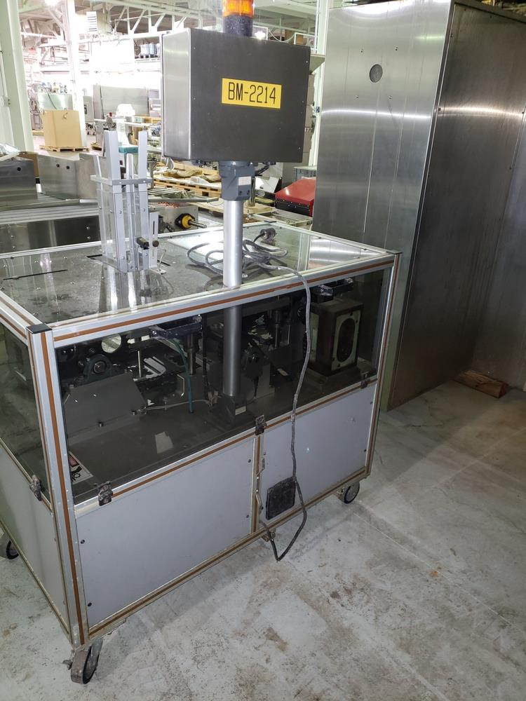 Gemel Mr. Deblister machine, 30mm x 50mm min to 120mm x 145mm max format sizes, rated up to 4800/ - Image 14 of 14