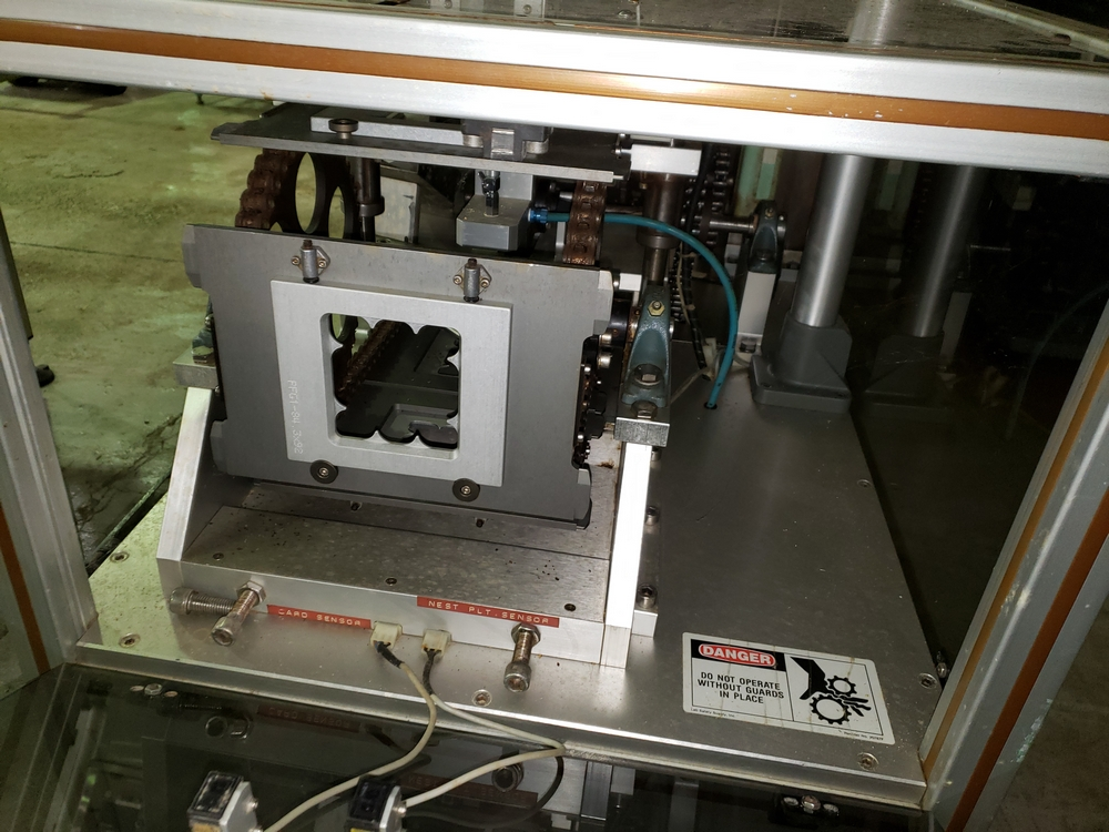 Gemel Mr. Deblister machine, 30mm x 50mm min to 120mm x 145mm max format sizes, rated up to 4800/ - Image 12 of 14