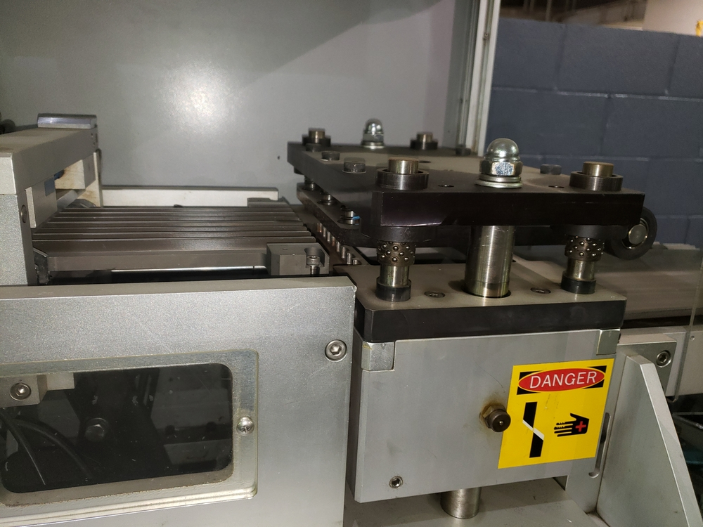 Hoong-A Corp thermoforming blister filler, model Ministar-N5, rated 30-60 strokes/minute, 200 mm - Image 11 of 25