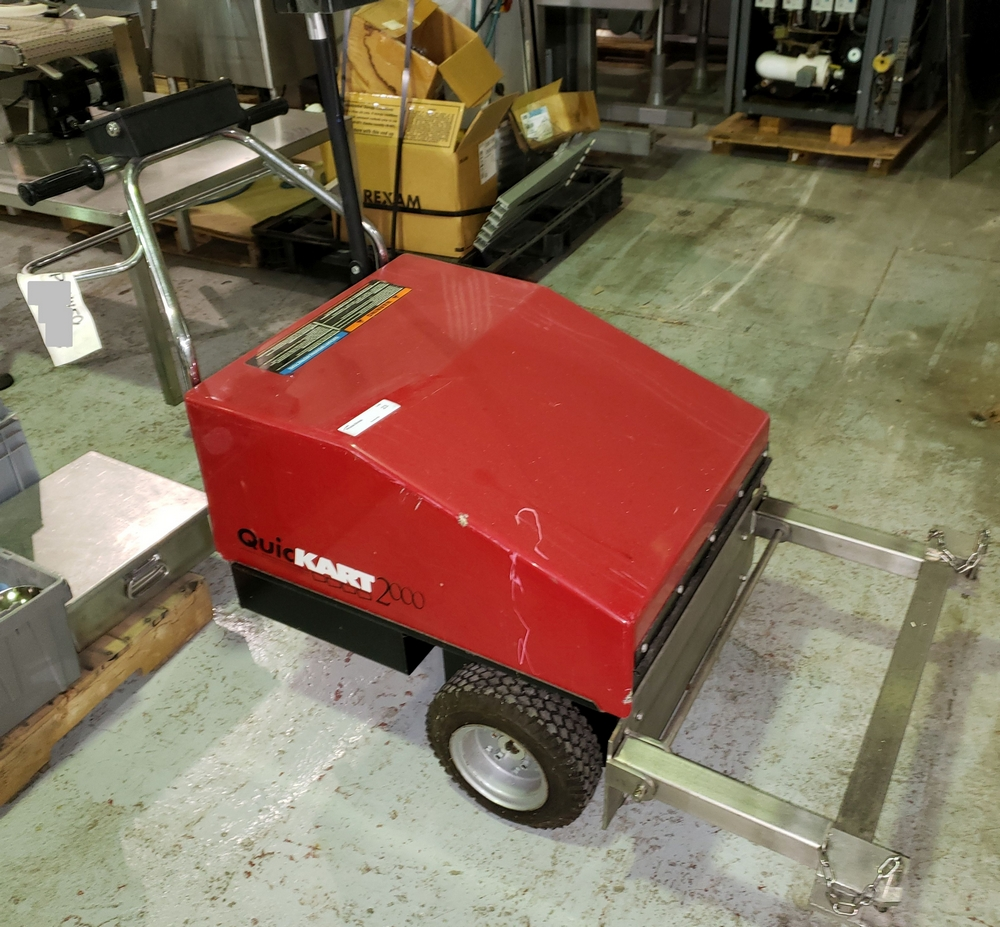 Dane Quickart 2000 power-assist shopping cart collectors, battery operated. - Image 12 of 12