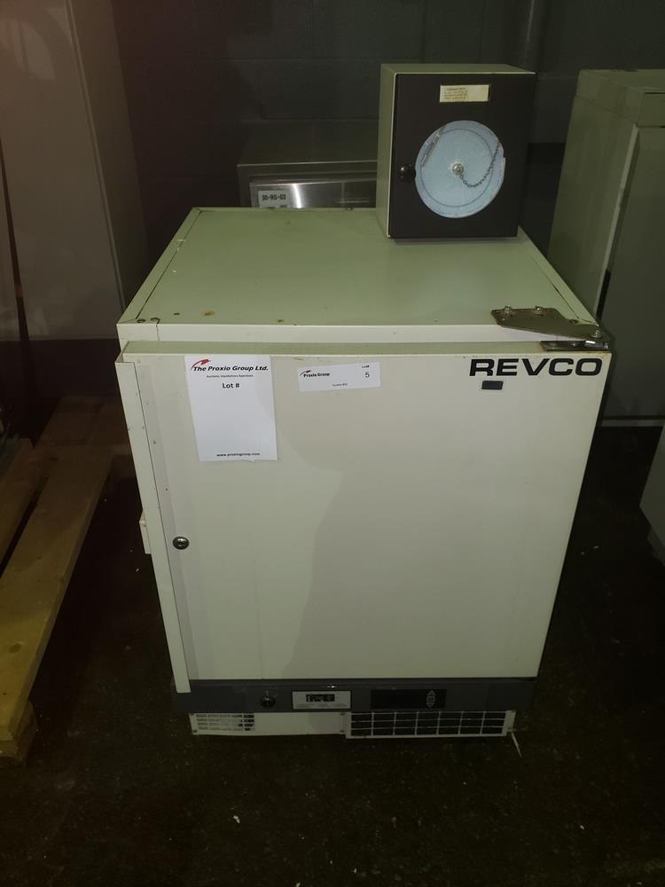 Revco refrigerator, model UFP430A18, R134a refrigerant, 115 volt, serial# U18N-100240-UN.