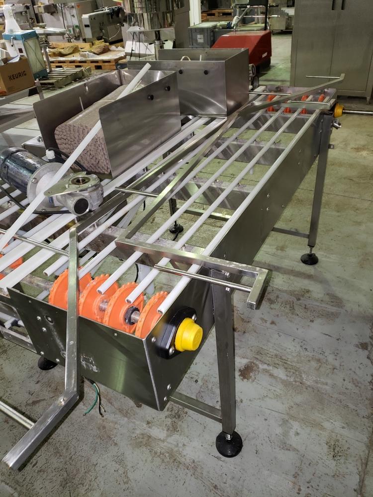 "NJM/CLI Bi flow conveyor, model TACO-S014, 30"" wide x 64"" long, with individual .5 hp dc conveyor - Image 3 of 9"