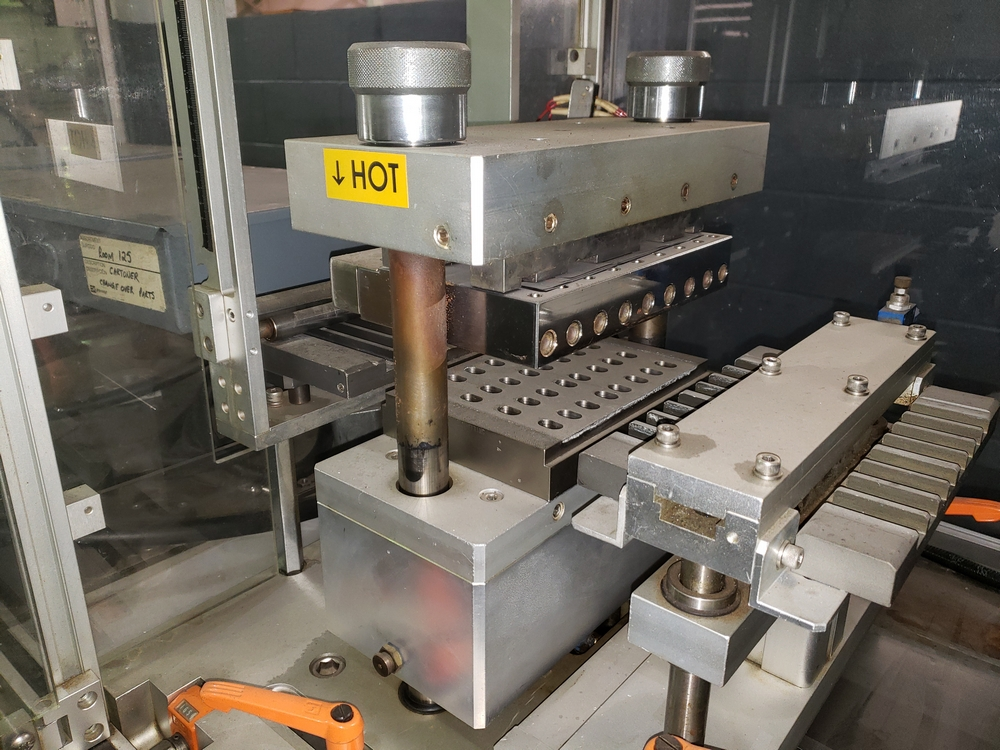 Hoong-A Corp thermoforming blister filler, model Ministar-N5, rated 30-60 strokes/minute, 200 mm - Image 15 of 25
