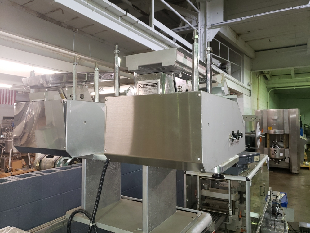 Hoong-A Corp thermoforming blister filler, model Ministar-N5, rated 30-60 strokes/minute, 200 mm - Image 23 of 25