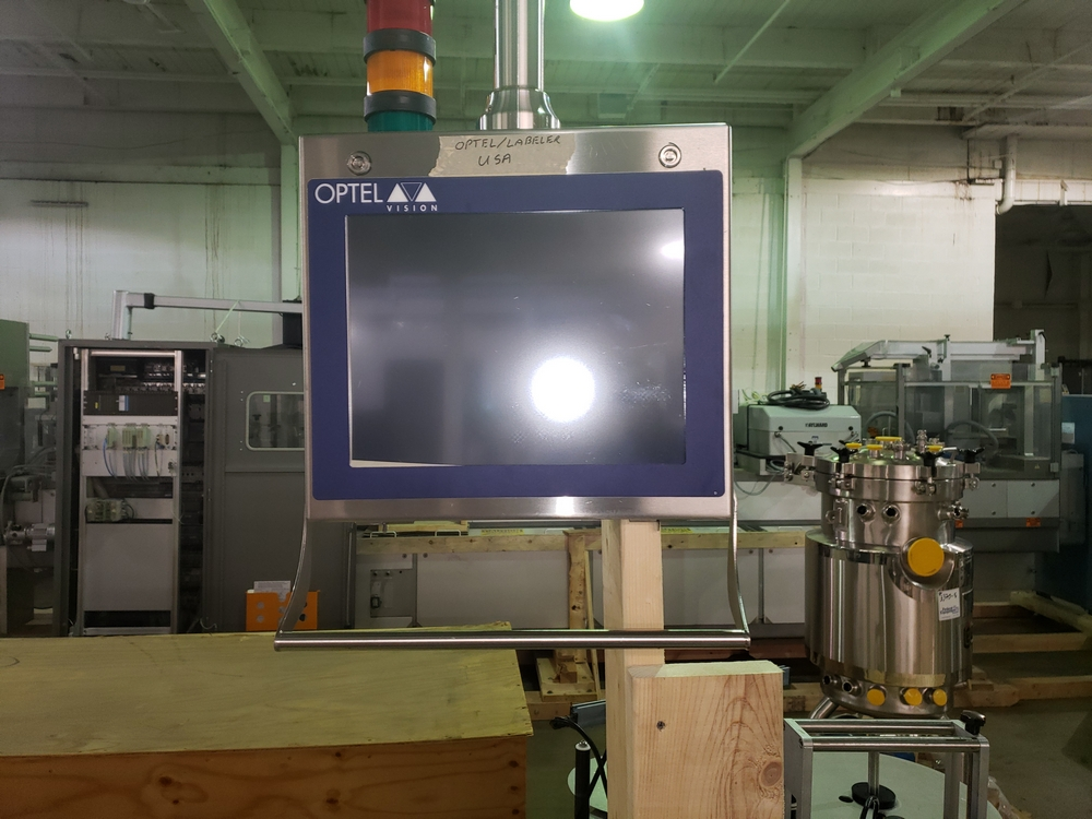 Quadrel wrap around labeler, model Versaline, single head with Open Date coder, timing feed screw, - Image 17 of 17