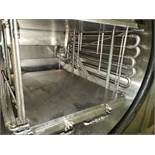 "Virtis freeze dryer, model RS-SRC-3MS, stainless steel construction, 4 sq ft shelf area, (3) 12"" x"
