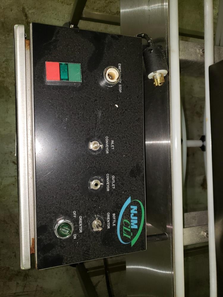 "NJM/CLI Bi flow conveyor, model TACO-S014, 30"" wide x 64"" long, with individual .5 hp dc conveyor - Image 7 of 9"
