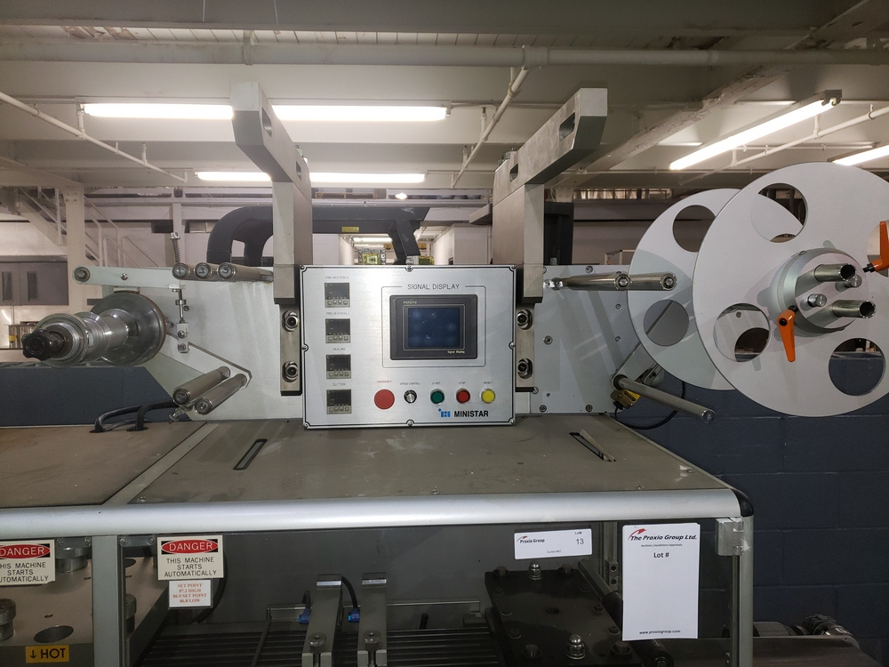 Hoong-A Corp thermoforming blister filler, model Ministar-N5, rated 30-60 strokes/minute, 200 mm - Image 6 of 25