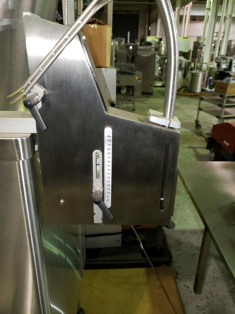 DT Kalish desiccant feeder, model 8331,designed for barrel canisters, with rotary bowl feeder and - Image 5 of 6