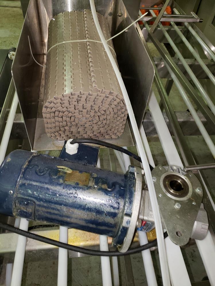 "NJM/CLI Bi flow conveyor, model TACO-S014, 30"" wide x 64"" long, with individual .5 hp dc conveyor - Image 4 of 9"