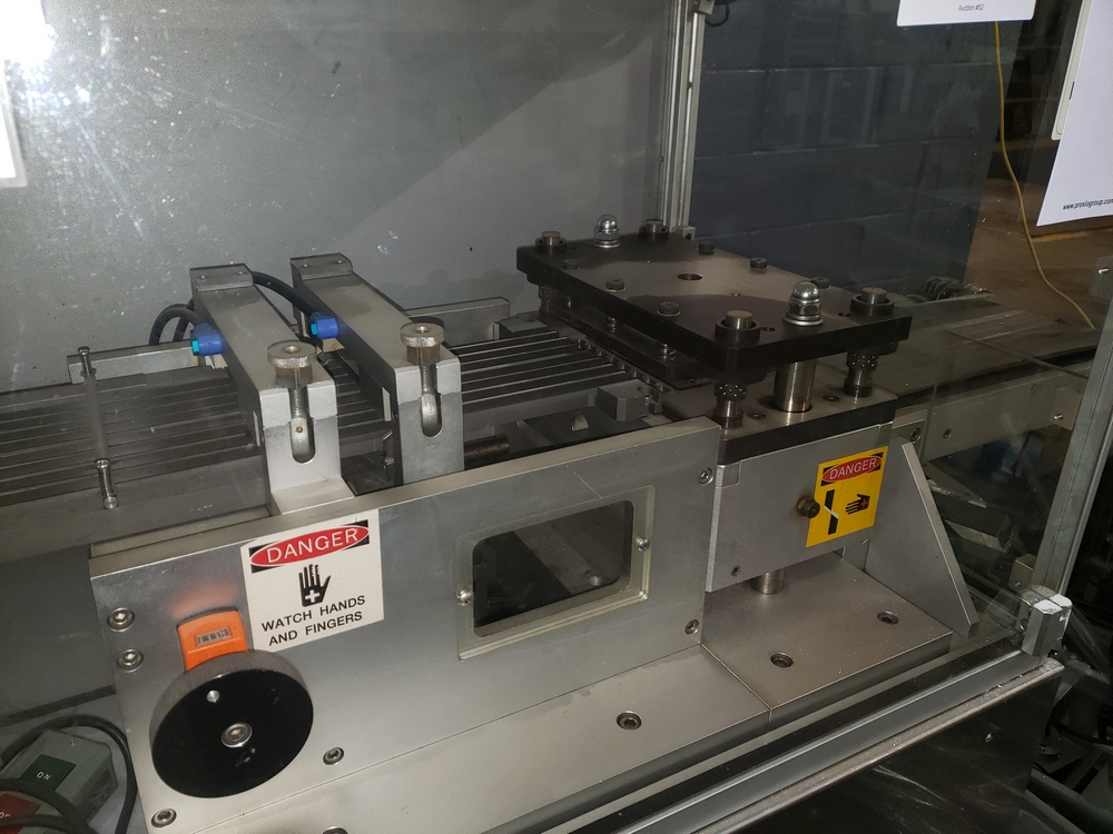 Hoong-A Corp thermoforming blister filler, model Ministar-N5, rated 30-60 strokes/minute, 200 mm - Image 9 of 25