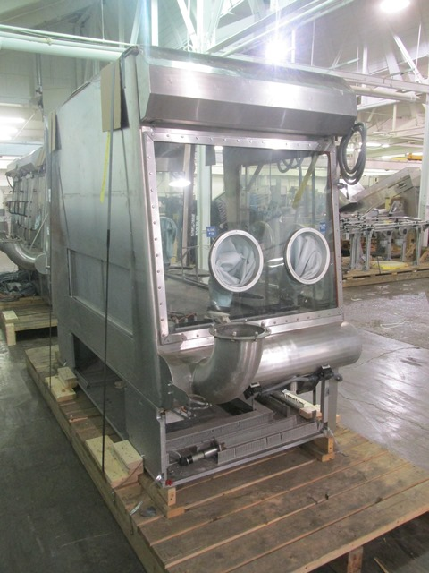Bausch+Stroebel vial filling line, with model FAW1120 rotary vial washer, serial# 50585, model - Image 8 of 19