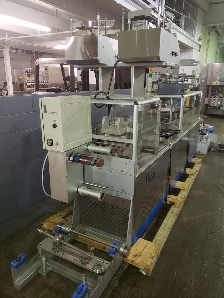 Hoong-A Corp thermoforming blister filler, model Ministar-N5, rated 30-60 strokes/minute, 200 mm - Image 22 of 25