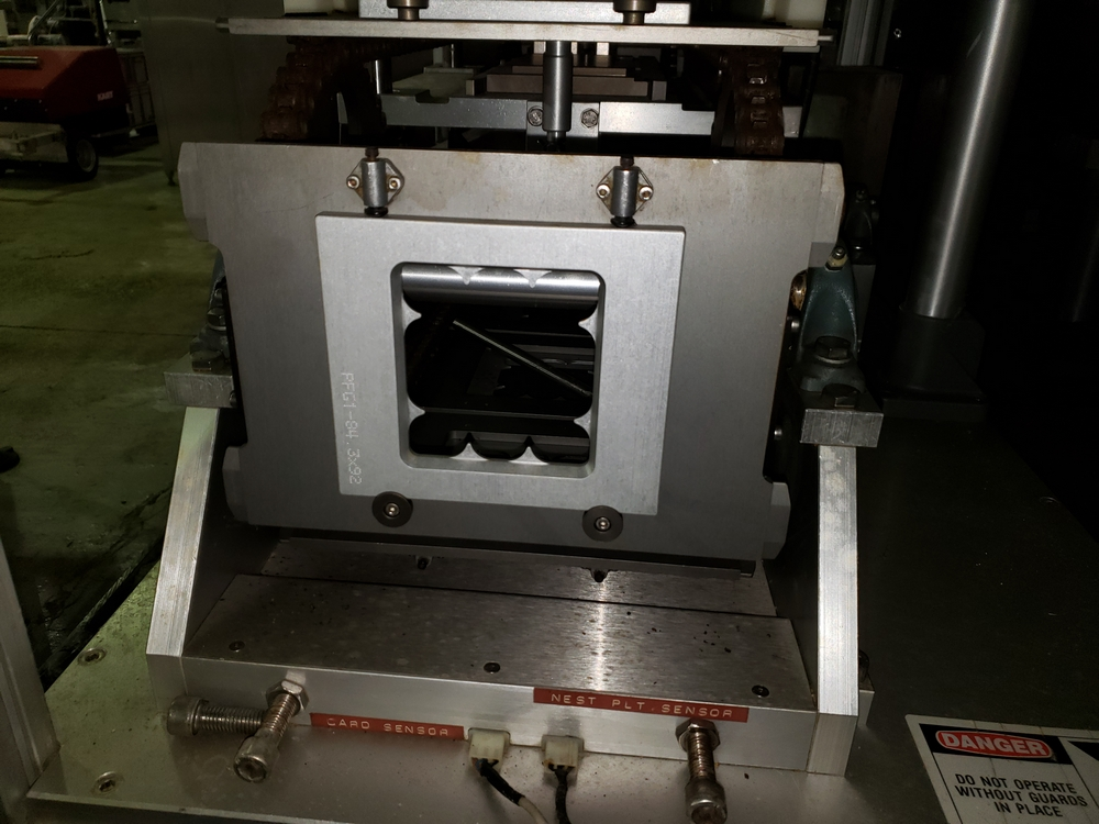 Gemel Mr. Deblister machine, 30mm x 50mm min to 120mm x 145mm max format sizes, rated up to 4800/ - Image 13 of 14