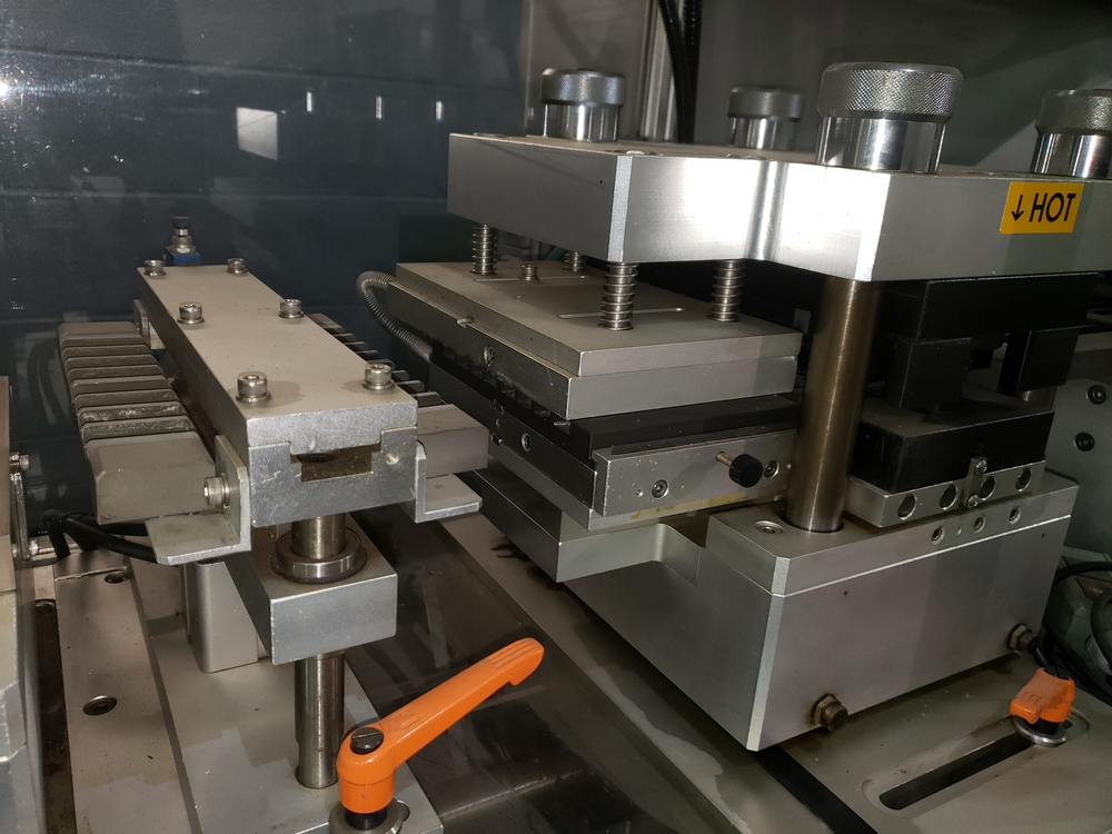 Hoong-A Corp thermoforming blister filler, model Ministar-N5, rated 30-60 strokes/minute, 200 mm - Image 14 of 25