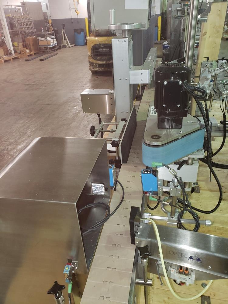 Quadrel wrap around labeler, model Versaline, single head with Open Date coder, timing feed screw, - Image 10 of 17