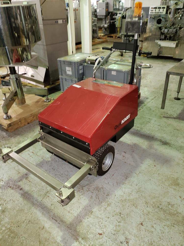 Dane Quickart 2000 power-assist shopping cart collectors, battery operated. - Image 4 of 12