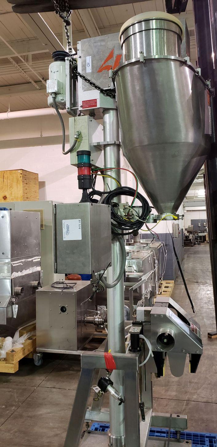 All-Fill auger filler, model BS600, stainless steel construction,