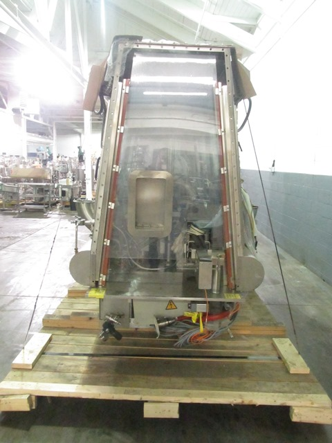 Bausch+Stroebel vial filling line, with model FAW1120 rotary vial washer, serial# 50585, model - Image 6 of 19