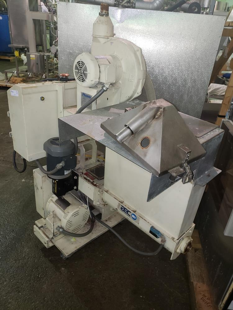 "Nelmor granulator, model F211, 8"" wide feed opening, screw feed, 2 knife rotor, 5 hp, 230/460 volt - Image 7 of 11"
