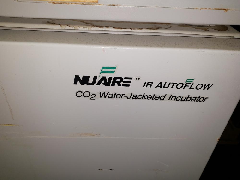 Nuaire IR Autoflow Incubator, model NU-2500, Series 24, water jacketed, serial# 71532. - Image 2 of 7