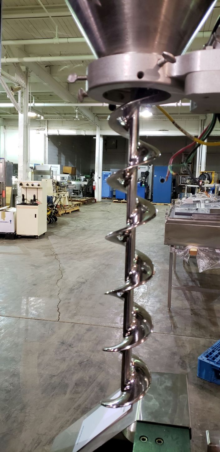 All-Fill auger filler, model BS600, stainless steel construction, - Image 3 of 15