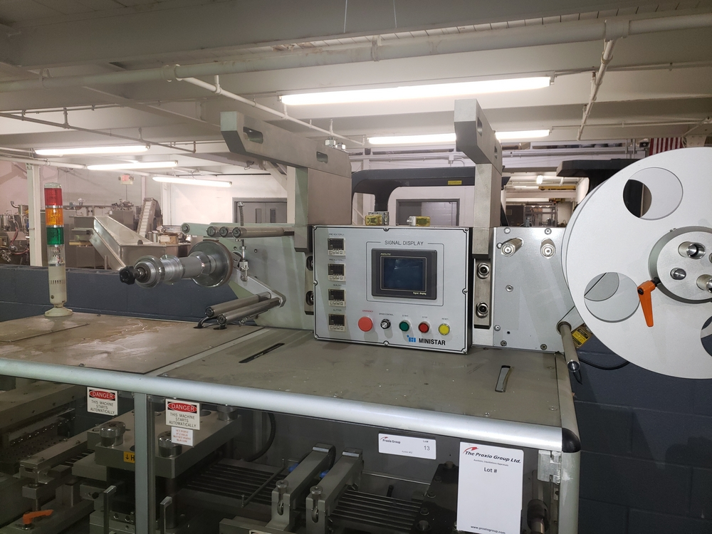 Hoong-A Corp thermoforming blister filler, model Ministar-N5, rated 30-60 strokes/minute, 200 mm - Image 5 of 25