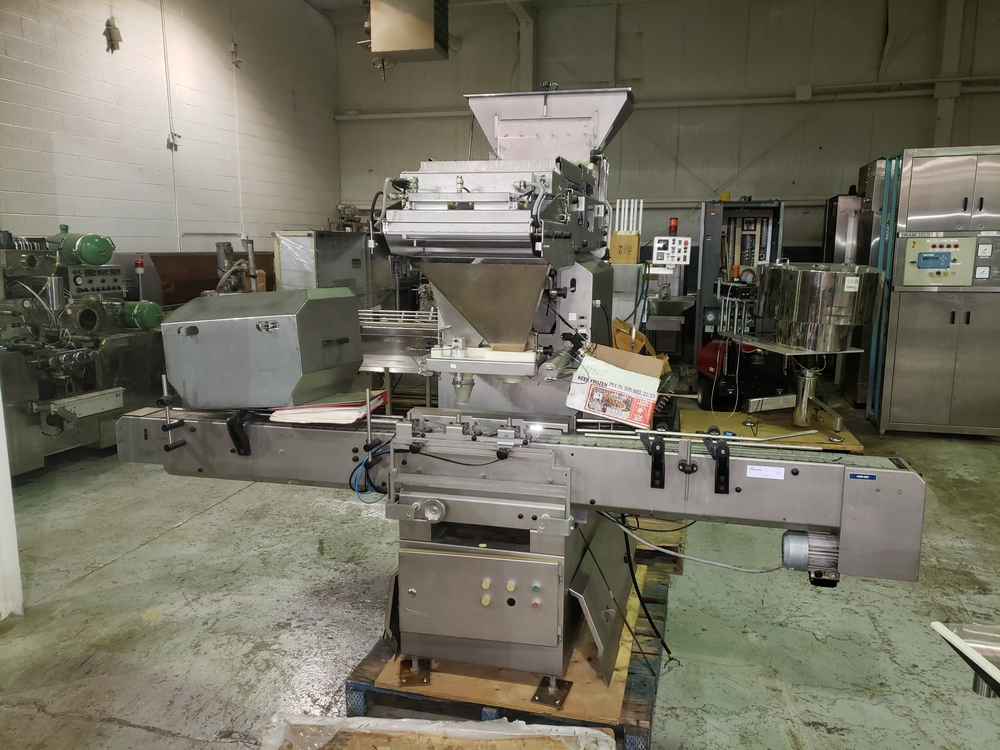 Cremer tablet counter, model CF-1230, stainless steel Contacts **See Auctioneers Note**