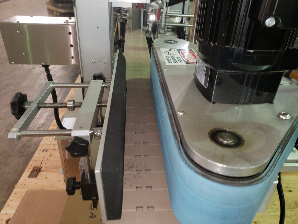 Quadrel wrap around labeler, model Versaline, single head with Open Date coder, timing feed screw, - Image 11 of 17