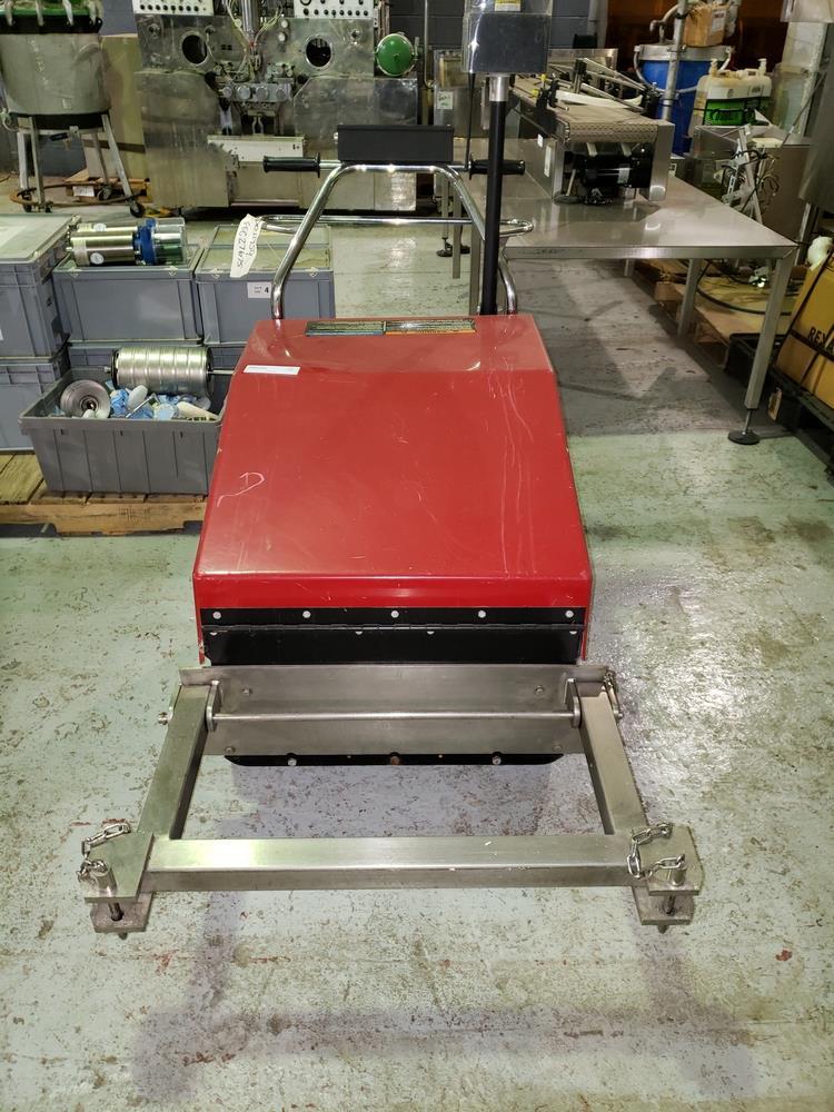 Dane Quickart 2000 power-assist shopping cart collectors, battery operated.