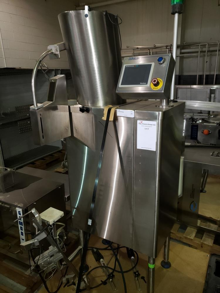 DT Kalish desiccant feeder, model 8331,designed for barrel canisters, with rotary bowl feeder and - Image 2 of 6