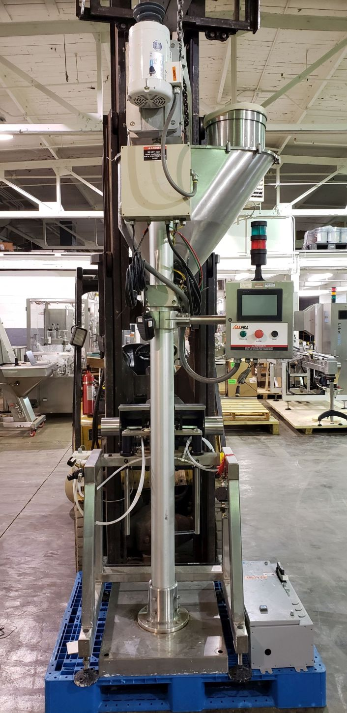 All-Fill auger filler, model BS600, stainless steel construction, - Image 4 of 15