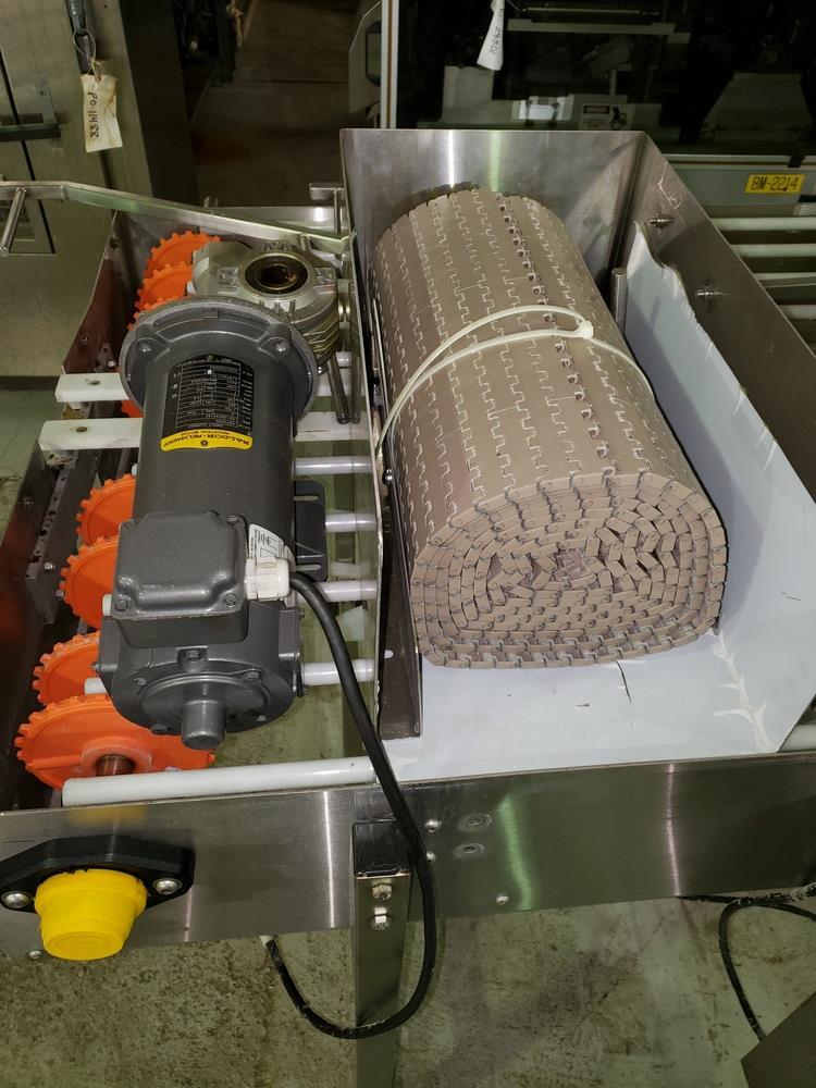 "NJM/CLI Bi flow conveyor, model TACO-S014, 30"" wide x 64"" long, with individual .5 hp dc conveyor - Image 6 of 9"