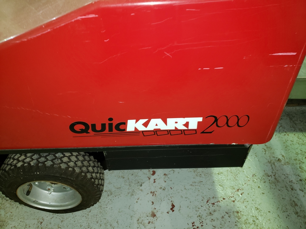 Dane Quickart 2000 power-assist shopping cart collectors, battery operated. - Image 6 of 12