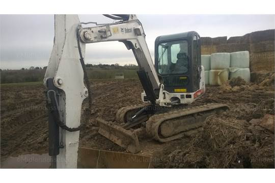 DS - 2007 BOBCAT 341 5 TON EXCAVATOR YEAR OF MANUFACTURE