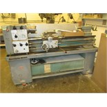 "Lathe. Harrison M300 Centre Lathe with 6"" 6-Jaw Chuck, 1 3/8"" Spindle Bore, Spindle Speeds: 40-"