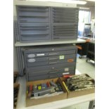 Endmill and Reamers. Huot Lot: (2) Endmill Cabinets and (4) Reamer Cabinets with Ball and Radius