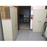 Cabinets with Contents. Lot: (2) Storage Cabinets with Misc Tooling. HIT# 2205831. CNC Room. Asset