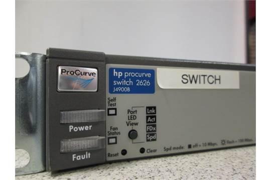 HP Procurve Switch 2626, Model J4900B