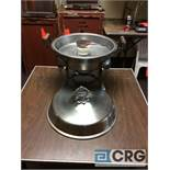 Lot of (4) 6 Qt round stainless chafing dish, 14 in. diameter