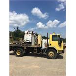 2003 Ford 7000 Cargo Truck w/ (2) Mark Rite Lines Melters